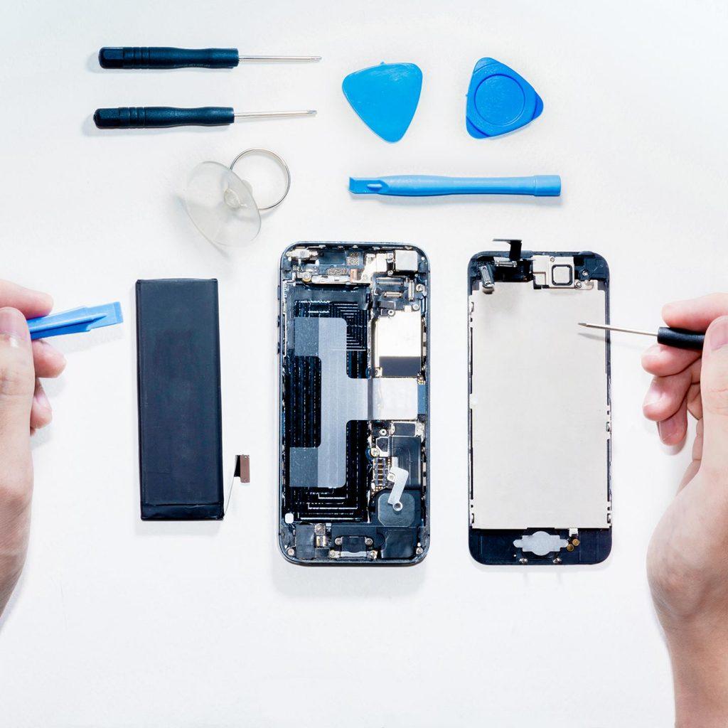 Smartphone-Reparaturservice der Taubner Network Solution GmbH in Worbis
